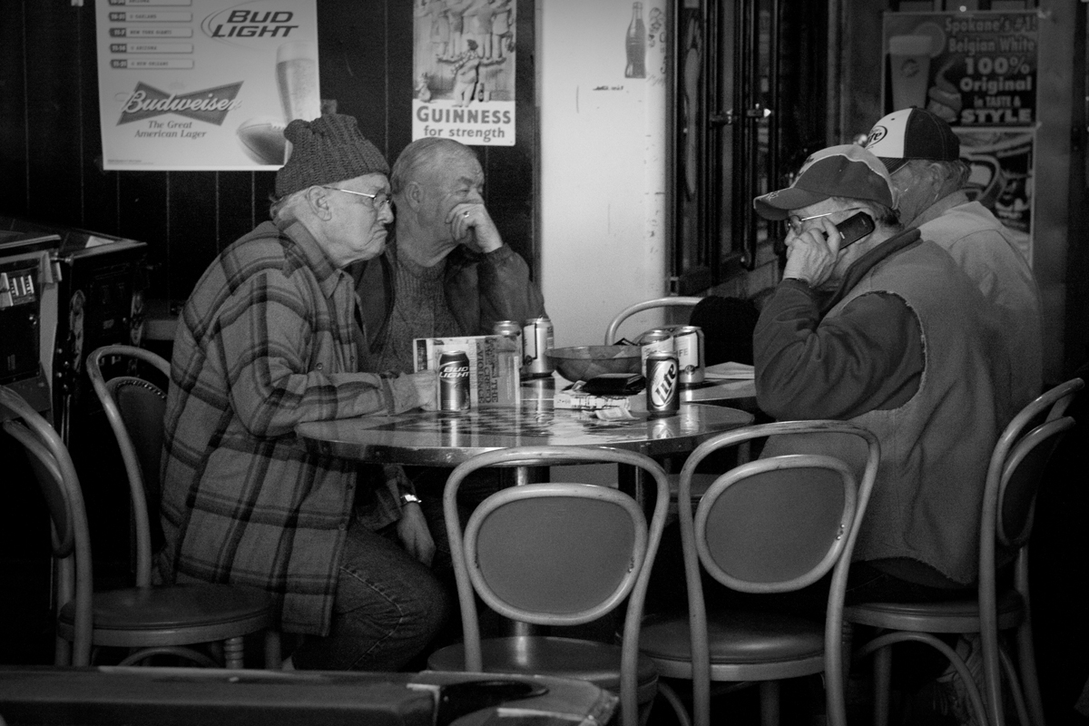 Old guys at table